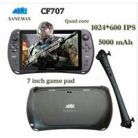 7 inch game android tablet Android 4.4.2 RK3188 quad core 1.6GHZ Wi-Fi SANEMAX CF707 Video Game console