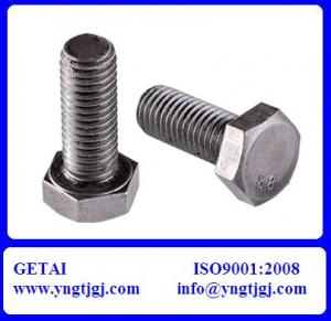 China ASTM A307 M60 Hex Bolt Weight on sale