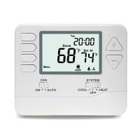 Digital Home 7 Day Programmable Thermostat With Large LCD Screen Battery Operated