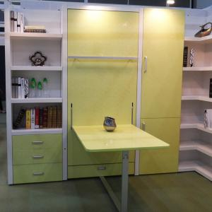 Quality Kids Modern Design Vertical Wall Beds Eco Friendly With Study Table  For Sale ...