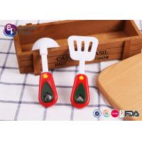 China BPA Free Food Safety Custom Plastic Toys Spoon For Children Playing on sale
