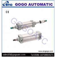 Stroke Adjustable Aluminium Compact Air Cylinders Pneumatic Components SI Series ISO6431