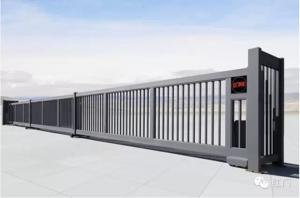 China Motorized Automated Sliding Gates Telescopic With Anti Collision supplier