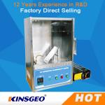 China 400mm * 300mm * 500mm Plastic Flammability Test Chamber / Apparatus , 45°Combustion Flammability Test Equipment wholesale