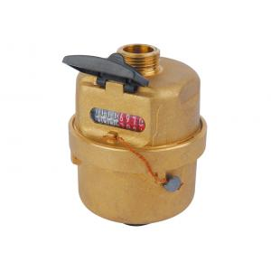 Quality Brass Rotary Piston Volumetric Cold Water Meter ISO4064 Class C for sale