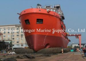 China Good Air Block Inflatable Marine Tugboat Launching Airbag for Ship Launching on sale