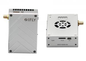 China 10-12km 15ms low latency wireless COFDM Video transmitter for fixed wing UAV on sale