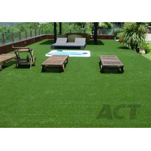 China Economic Landscaping Artificial Grass PE Monofilament + PP Curly Low Maintenance on sale