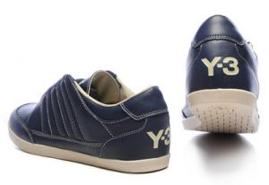 China Adidas y3 Men's Sport Casual Shoe Men Leather Sneaker Shoe on sale