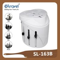 China electrical products world travel adapter with US EU AUS AU plug