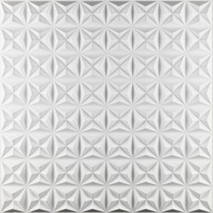 China Self Adhesive 3D White Wall Panels , Modern 3D Wall Panels PVC Material on sale