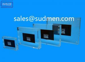 China high quality small MOQ cheap price custom made picture frames with plexiglass on sale
