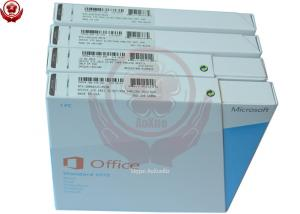 China Office 2013 Professional Fpp Retail Box 32 Bit / 64 Bit Microsoft Office 2013 Product Key on sale