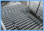 Serrated Welded Steel Bar Wire Mesh Grating Galvanized Step Floorings Application