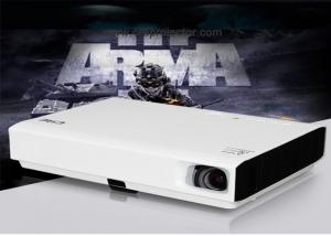 China Small Size LED Multimedia Projector Beamer , Commercial Led Hd 3d Projector on sale