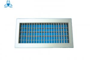 China Hvac System Wall Air Vent , Air Vent Diffuser Aluminium Egg Crate Grille on sale