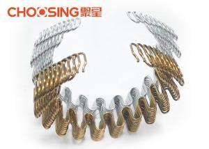 China 3.8mm Black Zig Zag Sofa Springs Replacement Settee Springs Sofa DIY , Serpentine Upholstery Springs on sale