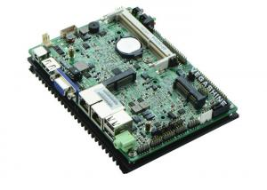 China Dual Gigabit LAN EPIC 3.5 inch 6 COM Fanless Embedded Motherboard Support Wake-on-LAN / PXE on sale