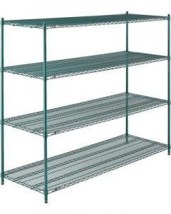 China Quick And Easy Assembly Commercial Wire Shelving For Mushrooms Growth on sale