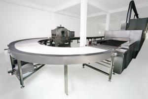 China Small Hot Wafers Cookie Production Line , Chocolate Filling Snack Production Line on sale