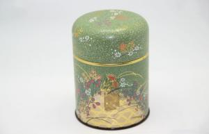 China Recyclable Custom Tea Tin Boxes Packing , Round Tin Containers on sale