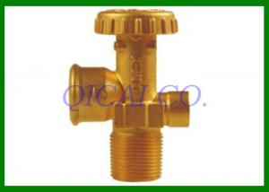 China Columbia LPG Cylinder Valve , Outlet thread F POL(INT 0.885-14NGO-LH) on sale