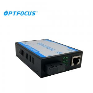 China Duplex Mode  Fiber Media Converter , 20KM Switch Media Converter 0.5 KG Weight on sale
