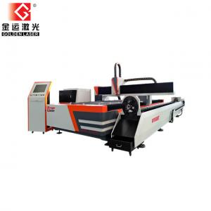China Metal Tube and Plate Fiber Laser Cutting Machine With Rotary Device on sale