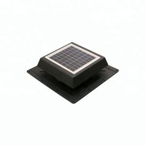 China 8W8IN Solar Powered Solar Attic Vent Fan Solar for air exhaust on sale
