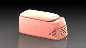 China 8L Modern Mini Portable Car Fridge Freezer / Car Cooler / Ice Box with Warmer on sale