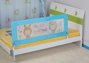 China Blue Home Bed Safety Rails , Foldable Youth Kids Bed Safety Rail For Twin Bed on sale