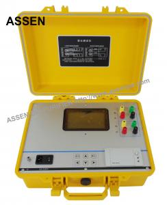 China ASSEN ATTR Transformer Turns Ratio Tester,Three Phase Power Transformer High Voltage Testing Instrument on sale