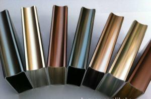China Powder Coated Aluminum , Wear resistance , Weather Resistance , Colourful on sale
