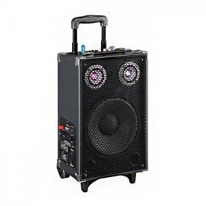 China Led Disco Light Tweeter Rechargeable Dj Bluetooth Speaker For Karaoke / Dancing on sale