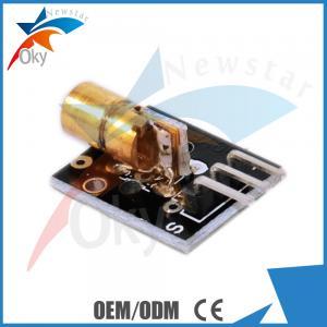 China Demo Code Sensors For Arduino , 5V 5Mw Dot Laser Module on sale