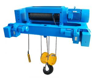 China Double Girder Electric Wrie Rope Hoist , 16 Ton 30m Height on sale