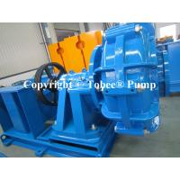 Heavy duty slurry pumps for abrasive or abrasive-corrosive service
