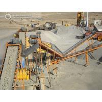 100TPH Iron ore stone crushing plant