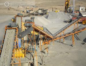 China 100TPH Iron ore stone crushing plant on sale