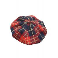 China Women Wear Summer Newsboy Cap Colorful Scottish Style Various Occasions on sale