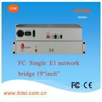 Mini、19 inch 1U,Single e1 eth bridge Protocol Media Converter