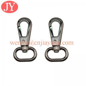 China jiayang nickle free and lead free plating bag accessory metal swivel snap hook on sale