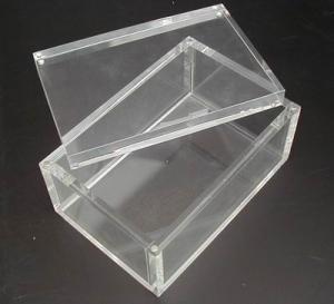 China Acrylic Box  Lucite case  Plexiglas Box on sale