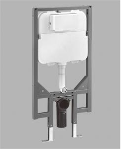 China Engineering Plastic Toilet Tank Fittings Wall Hung Toilet Frame And Cistern on sale