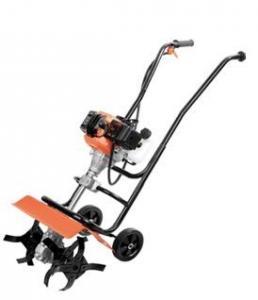 China Professional Orange Color Garden Tiller Machine Lightweight Bicycle Handle Type on sale