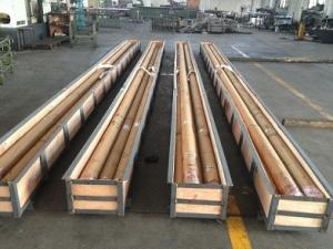 China Ground Hard Chrome Plated Rods Diamter 25-200MM With Good Quality on sale