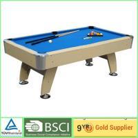Antique billiard tables 18mm MDF with 2 pcs plastic wheels / blue billiard cloth