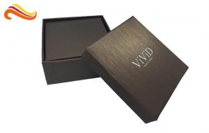 China Jewellery Packaging Apparel Gift Boxes With Hinged Lid And Base Box on sale