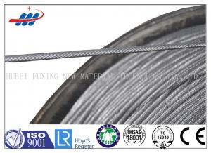 China Zinc Plating Prestressed Concrete Wire 1770MPA , Prestressing Steel Strand on sale