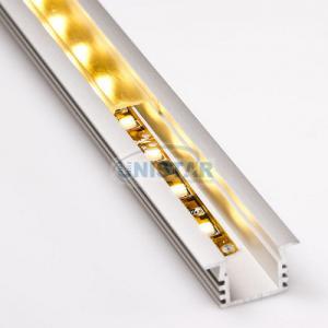 China Deep Flush Mount LED Aluminium Flexible Led Strips Housing PDS4-K Series on sale